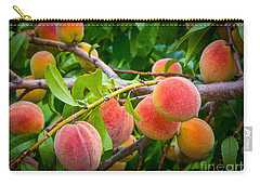 Peaches Carry-all Pouch by Inge Johnsson