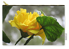 Peachy Yellow Surprise Carry-all Pouch