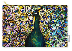 Peacock Carry-all Pouch by American School