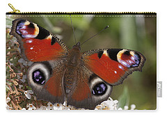 Peacock Butterfly Carry-all Pouch by Richard Thomas