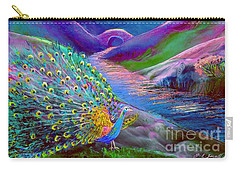 Peacock Magic Carry-all Pouch