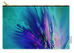 Peacock Paradise Carry-all Pouch by Tlynn Brentnall