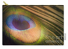 Peacock Party Carry-all Pouch by Jan Bickerton