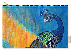 Peacock Waltz #3 Carry-all Pouch