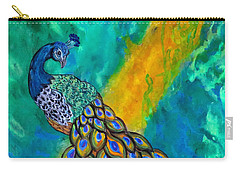 Peacock Waltz II Carry-all Pouch