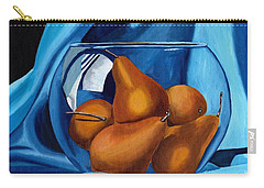 Carry-all Pouch featuring the painting Pear Anyone by Laura Forde