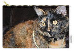 Pearl With Pearls Carry-all Pouch by Oksana Semenchenko