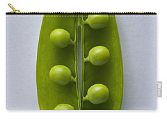 Carry-all Pouch featuring the photograph Peas In A Pod 2 by Sean Griffin