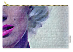 Peek A Boo Marilyn  Monroe Carry-all Pouch by Joan Reese