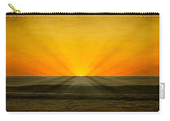 Peeking Over The Horizon Carry-all Pouch