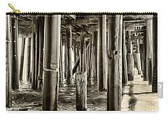 Peeking Under The Pier By Diana Sainz Carry-all Pouch