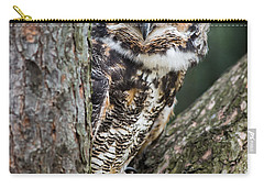 Peering Out Carry-all Pouch