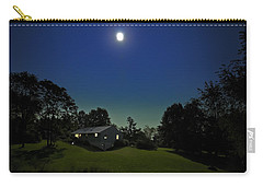 Carry-all Pouch featuring the photograph Pegasus And Moon by Greg Reed