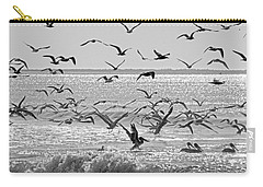 Pelican Chaos Carry-all Pouch by Betsy Knapp