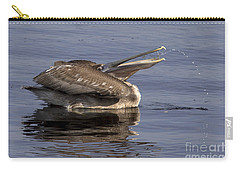 Pelican Fountain  Carry-all Pouch by Meg Rousher