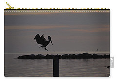 Pelican Landing Carry-all Pouch by Leticia Latocki