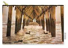 Pelican Paradise Carry-all Pouch by Betsy Knapp