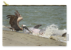 Pelican Steals The Fish Carry-all Pouch