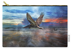 Pelican Sunrise Carry-all Pouch by Betsy Knapp