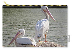 Pelicans By The Pair Carry-all Pouch