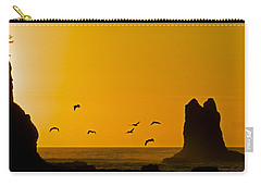 Pelicans On The Wing II Carry-all Pouch