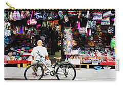 Carry-all Pouch featuring the photograph Pell St. Chinatown  Nyc by Joan Reese