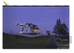 Pemaquid Point Light - Blue Hour Carry-all Pouch