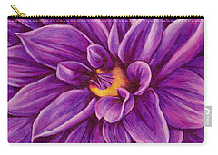 Pencil Dahlia Carry-all Pouch
