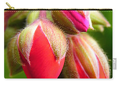 Carry-all Pouch featuring the photograph Pending Beauty by Deb Halloran