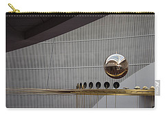 Carry-all Pouch featuring the photograph Pendulum Sculpture by Patricia Babbitt