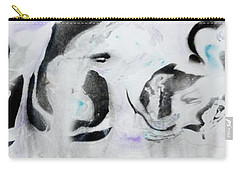 Carry-all Pouch featuring the painting Penguin by Mike Breau