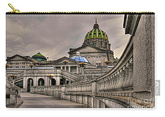 Pennsylvania State Capital Carry-all Pouch by Lois Bryan