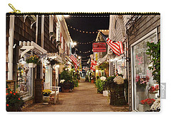Penny Lane At Night - Rehoboth Beach Delaware Carry-all Pouch