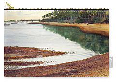 Carry-all Pouch featuring the painting Penobscot Bay by Roger Rockefeller