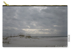 Carry-all Pouch featuring the photograph Pensacola Beach After Storm  by Christiane Schulze Art And Photography