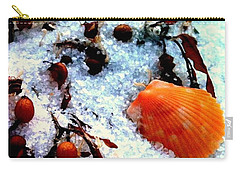 Pensacola Beach Sand Carry-all Pouch by Faith Williams