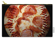 Pepperoni Pizza Baseball Square Carry-all Pouch