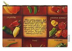 Pepper Facts  Carry-all Pouch