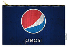 Pepsi Barn Sign Carry-all Pouch by Dan Sproul