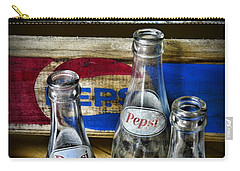 Pepsi Bottles And Crates Carry-all Pouch