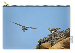 Peregrine Falcons - 1 Carry-all Pouch