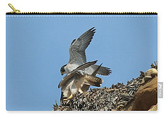 Peregrine Falcons - 4 Carry-all Pouch