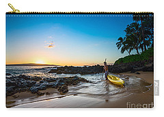 Perfect Ending - Beautiful And Secluded Secret Beach In Maui Carry-all Pouch