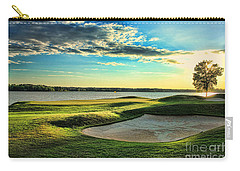Perfect Golf Sunset Carry-all Pouch