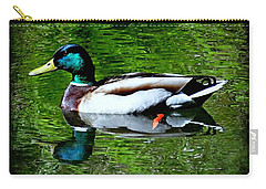 Carry-all Pouch featuring the photograph Perfect Reflection by Nick Kloepping