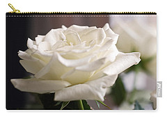 Perfect White Rose Carry-all Pouch