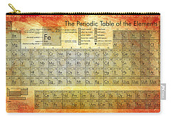 Periodic Table Of The Elements Carry-all Pouch