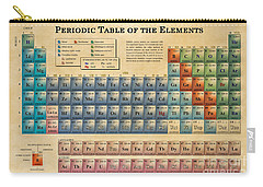 Periodic Table Of The Elements Carry-all Pouch by Olga Hamilton