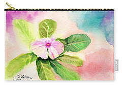 Periwinkle Carry-all Pouch by C Sitton