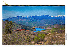 Perrygin Lake In The Methow Valley Landscape Art Carry-all Pouch